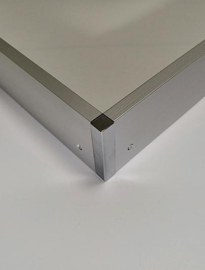 银色免螺丝转换框 LX-0708银